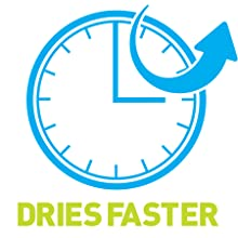 Dries faster