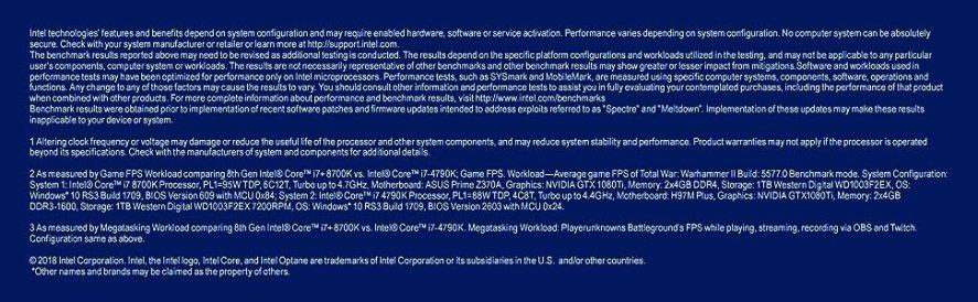 8th gen Intel Core i7-8700K processor BX80684I78700K