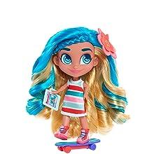 hairdorables, noah, patinador, sk8r, cabelo azul, show do youtube