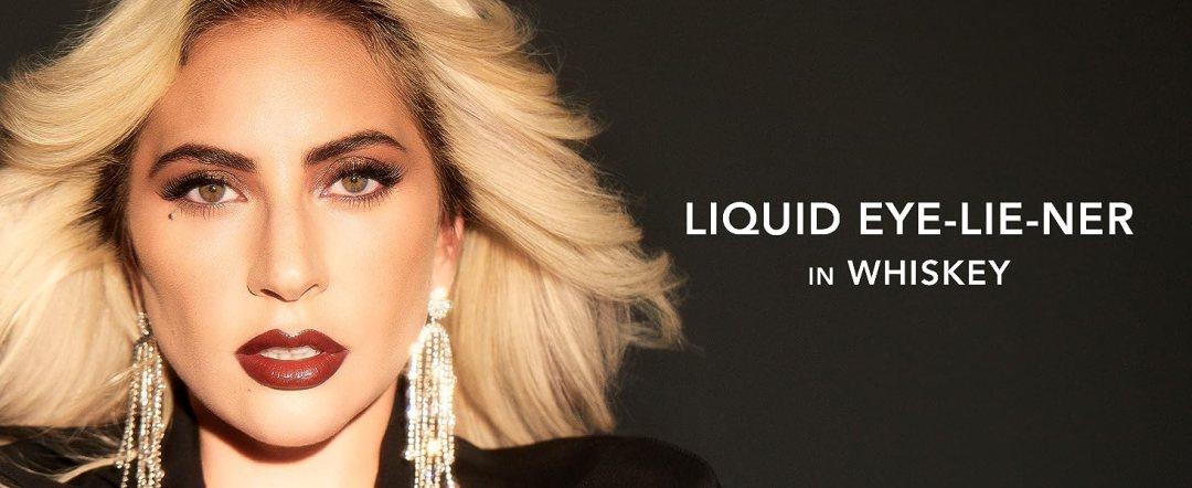 haus laboratories beauty, lady gaga, liquid eyeliner, brown liquid eyeliner, punk liner, gel kohl