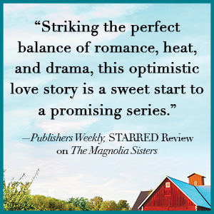 """""""Striking the perfect balance of romance, heat, and drama [plus more text]"""" -- Publishers Weekly"""