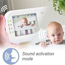 Modo de ativação de som