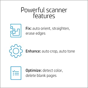 scanner features