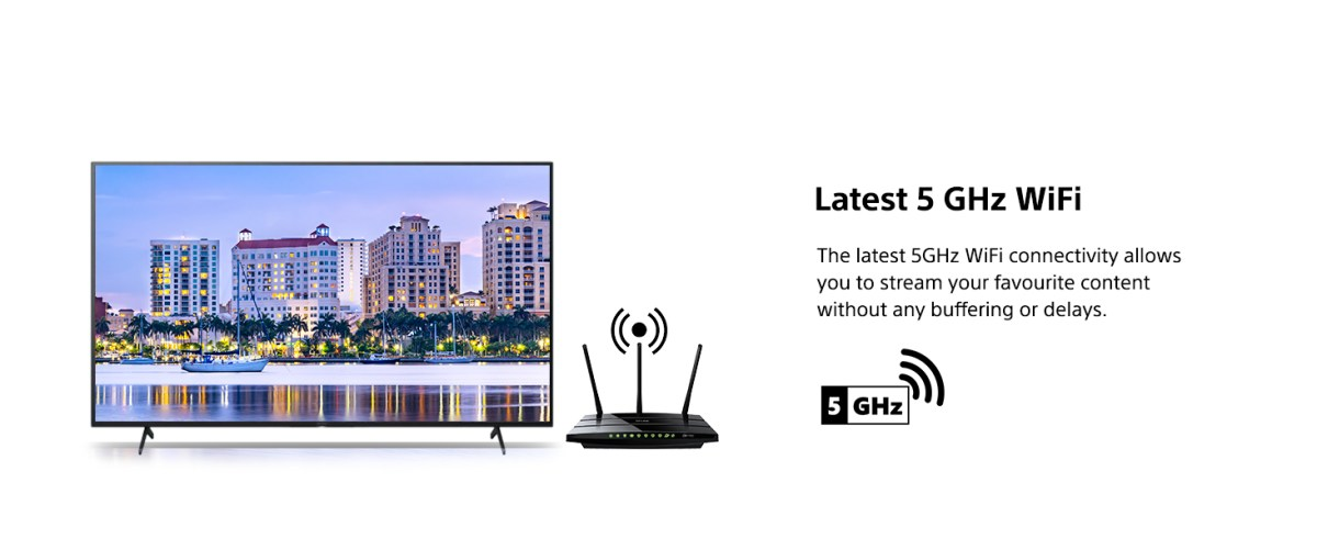 WiFi  Latest 5 GHz