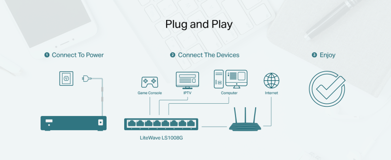 Plug and play switch