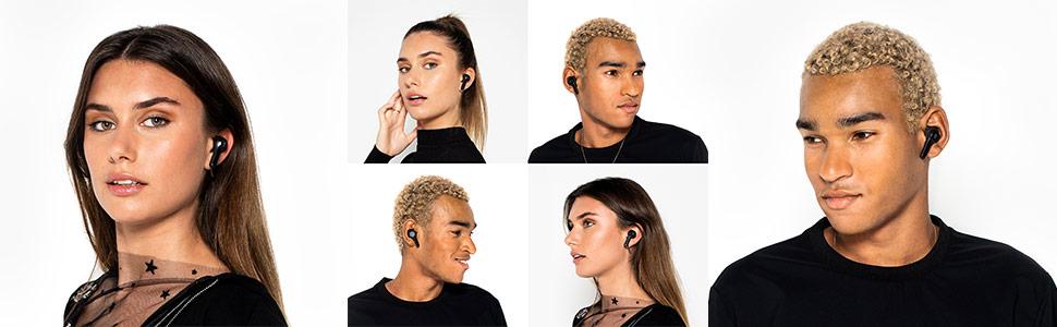Indy True Wireless Earbuds on Models