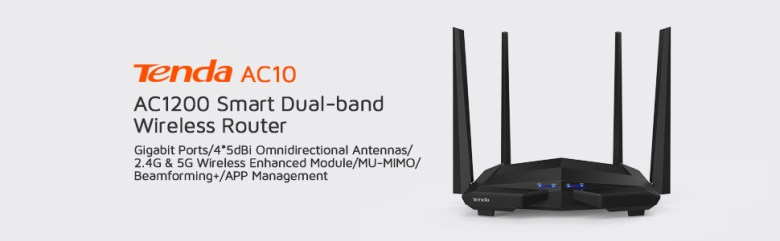 Tedna ac10 dual band ac wifi router