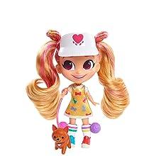 cabeleireiros, show do youtube, kat, dog walker, cabelo loiro, cabelo rosa, boneca colecionável