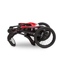 carrinho de jogging jeep jogging compact fold lançamento rápido back wheels