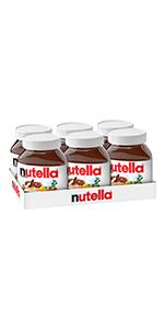 nutella, 750g, jar, chocolate, spread, bulk, large, condiment, jam