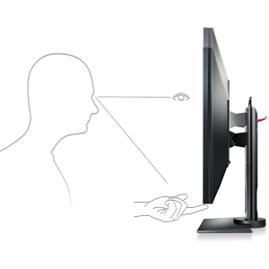 customize customizable adjust adjustable levels up down tilt swivel rotate monitor benq zowie