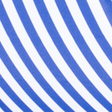 Close Up of the Polyester Fabric used on Harbour Housewares Wooden Deck Chairs