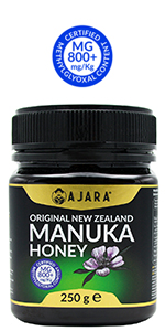 AJARA New Zealand Manuka honey 800+