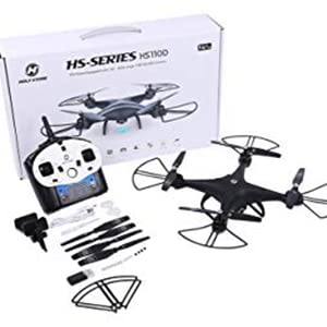 2-Holy Stone HS110D FPV RC Drone with 720P HD Camera Live Video