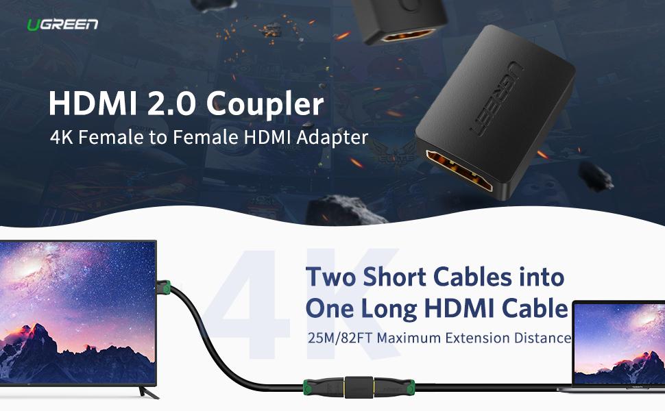 HDMI 2.0 Coupler