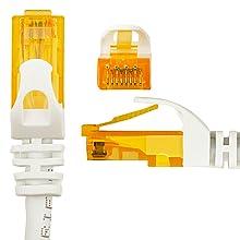 Ethernet Kabel Netzwerkabel Patchkabel LAN CAT6 50cm 150cm 1Gbit/s RJ45 U-UTP bunt Farben