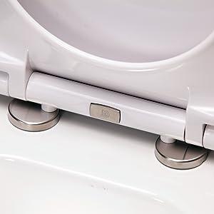 WC-Deckel in hochwertiger Verarbeitung