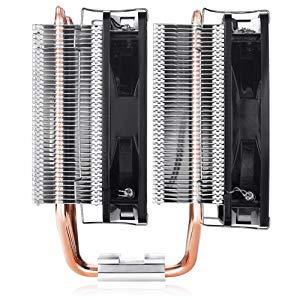 CPU-Kühler am4,cpu lüfter,CPU Luftkühler,6 Heatpipes,