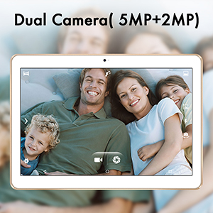 tablet- double camera