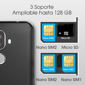 Smartphone 4G Telefono Móvil
