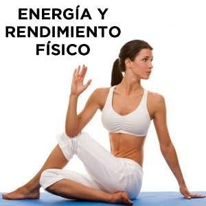 Energía Rendimiento Físico Atlético Mental Hivital Foods