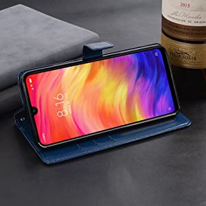 95e4433f 340b 4fb0 a99e 9c34927acaf5. CR0,0,1697,1697 PT0 SX300   - WOW Imagine Galaxy M21 / M30s Flip Case | Leather Finish | Inside TPU with Card Pockets & Stand | Magnetic Closure | Shock Proof Wallet Flip Cover for Samsung Galaxy M30s / M21 - Blue