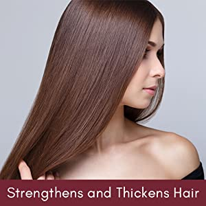 Strengthens and Thickens Hair
