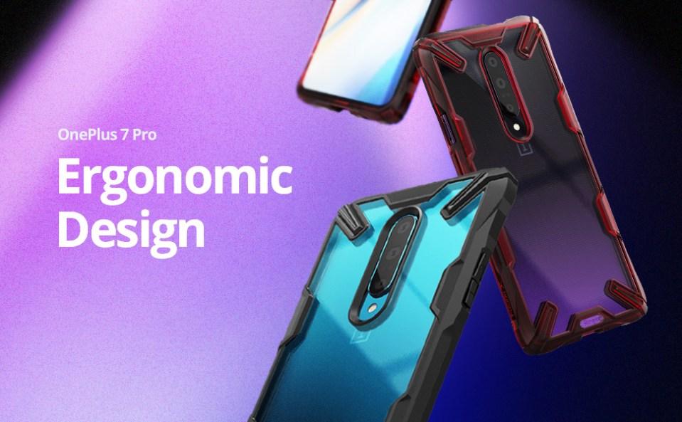 ergonomic design oneplus 7 pro case