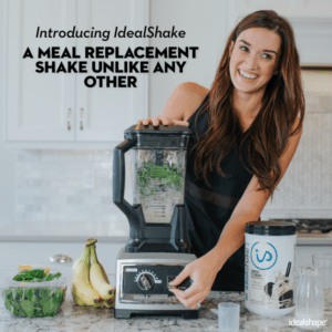 IdealShake Meal Replacement Shakes |11-12g of Healthy Whey Protein Blend | Promotes Weight Loss | 22 Essential Vitamins & Minerals | 5g of Fiber | Chocolate | 30 Servings 11