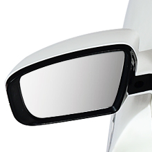 Foldable and Clear Review Mirror