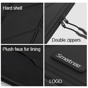 Waterproof and Shockproof Hard 13in laptop sleeve