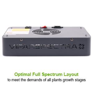 viparspectra full sprectrum 300w led grow light