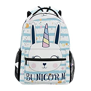 bunny unicorn backpack