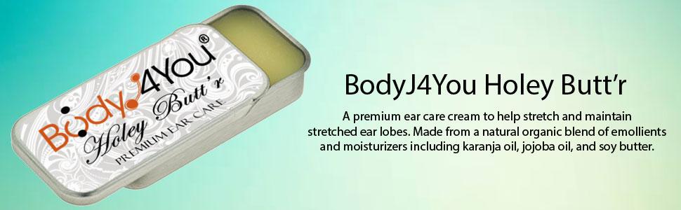 bodyj4you holey butt'r premium ear care