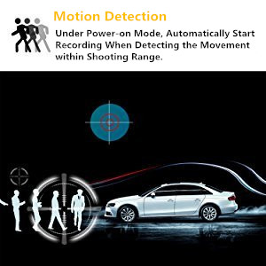 Apeman C470 Motion Detection