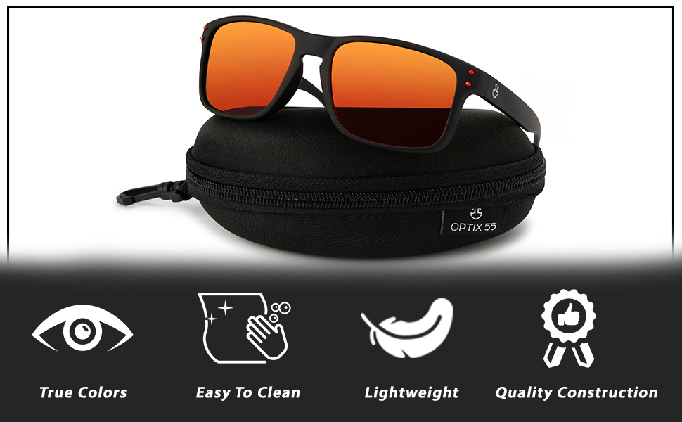 Easy to clean glasses are great gift for men.
