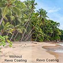 Revo coated sunglasses reduces the risk of eye strain.