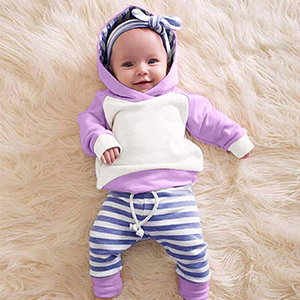 purple baby outfits