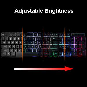 led keyboard combo