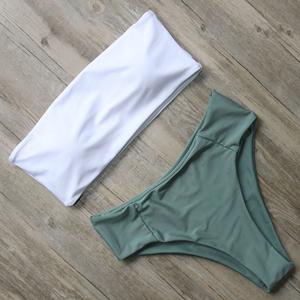bandeau bathing suit