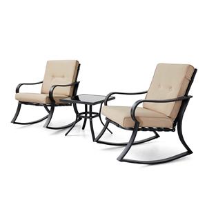 3 piece patio chair set