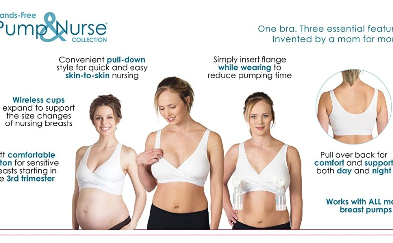 hands free pumping bra, nursing bra, pump and nurse bra, sleep bra, cotton nursing bra