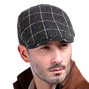 Newsboy cap for men