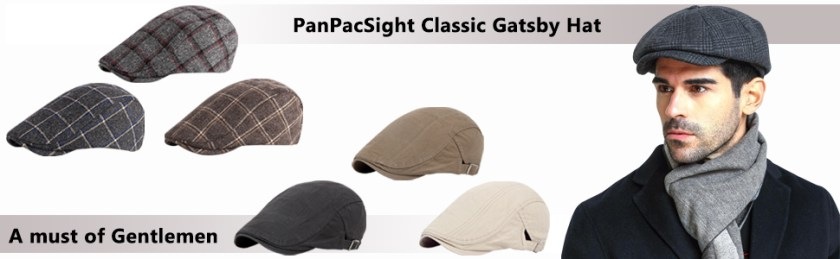 PanPacSight Newsboy Cap Styles for Men