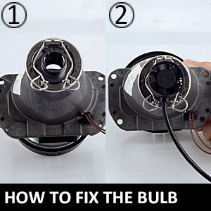 HOW TO FIX THE BULB