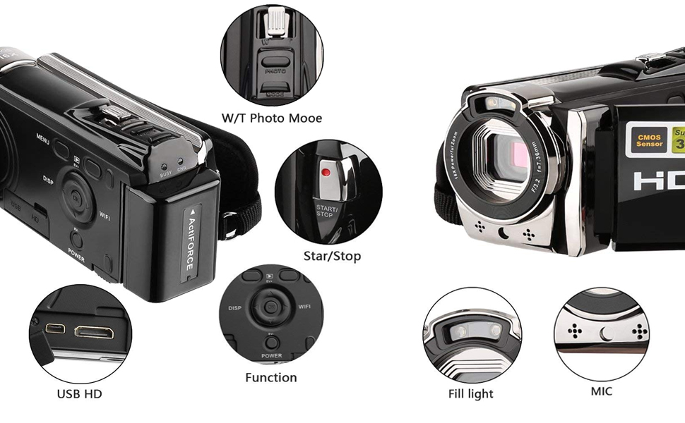 HD Digital camcoder