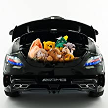 Kids car with trunk