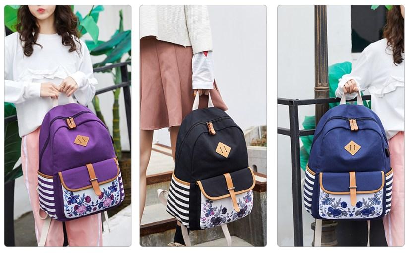 women girls rucksack