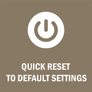 LuLu 7+ can be quick reset to factory settings