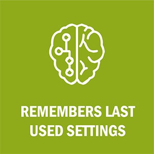 LuLu 7 Wand Massager Remembers last used settings